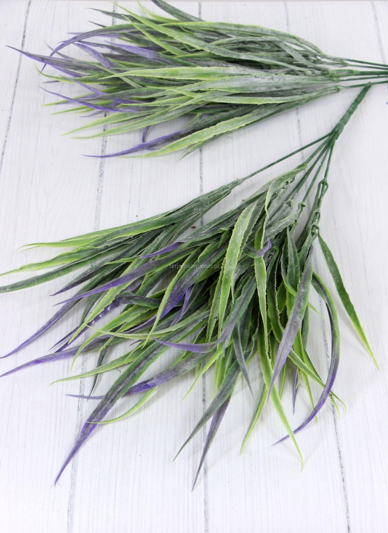 1c633fbbb1f383 Bukiet traw plast. CV08223 (2 x 4 zł) green violet - Sklep ...