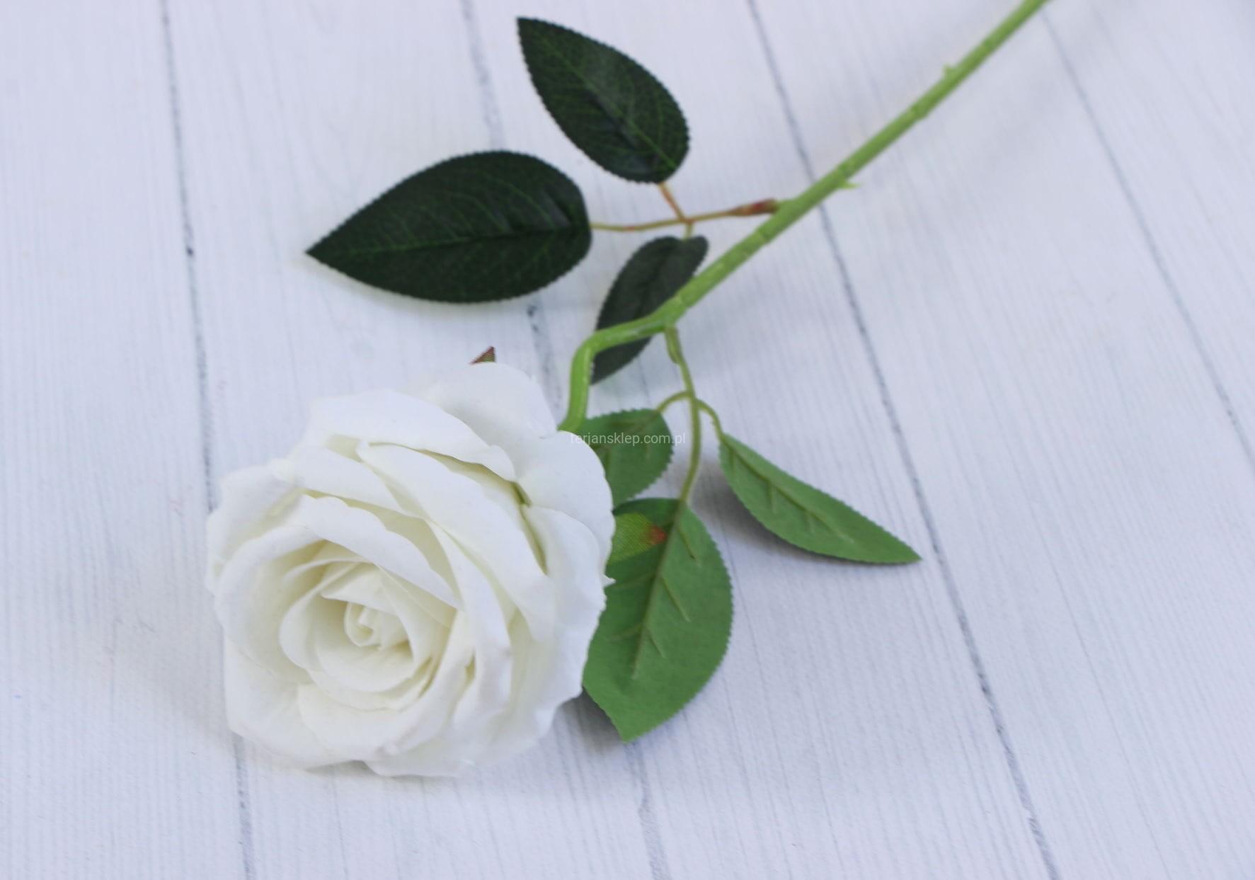 929b2be01b8dc6 Róża gał. welur F19056 (cream) 6 szt x 3 zł - Sklep internetowy ...