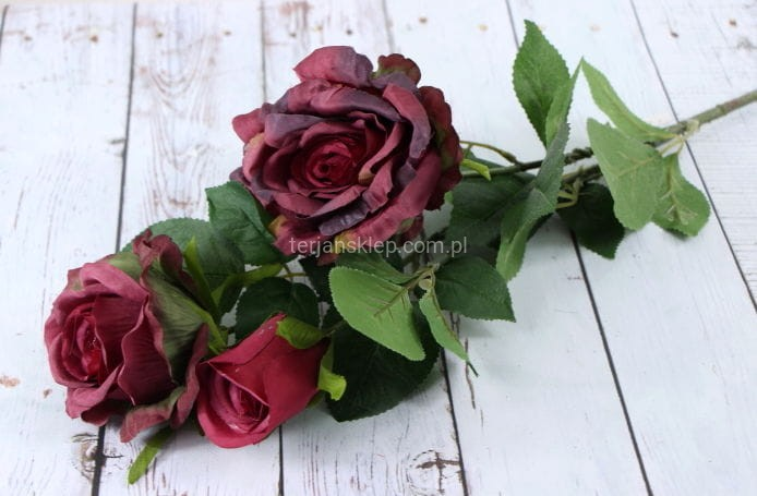 132e6e53b00aa9 Róża gał. CV07777 (aut cherry) - Sklep internetowy TERJAN hurtownia ...