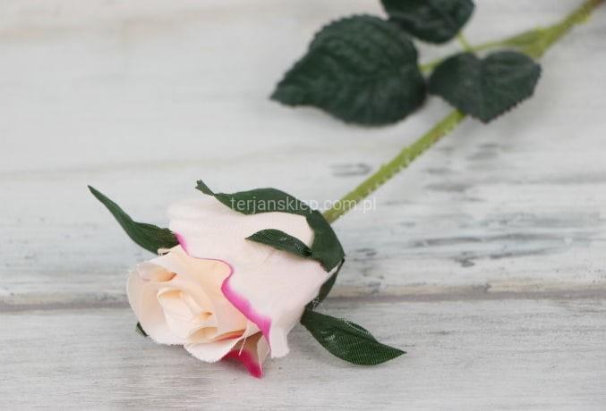7e55ec751380f3 Róża pąk gał. F16108 (12 szt x 1,60 zł) j.łosoś z róż.akcent ...