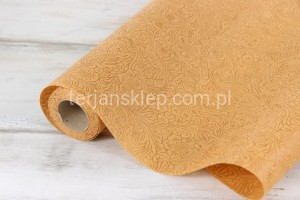 Flizelina pianka 3D (50 cm x 5Y) honey