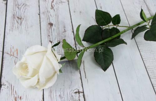 4bde3c1b2c5e66 Róża gał. welur CS107 (1 szt) krem - Sklep internetowy TERJAN ...